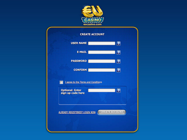 EUcasino screenshot 2